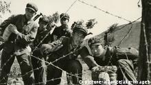 Soldaten der Volksbefreiungsarmee bei einer Übung