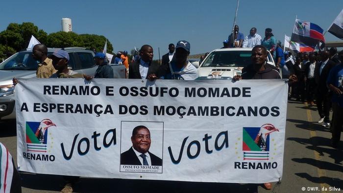 Wahlkampf von Renamo (DW/R. da Silva)