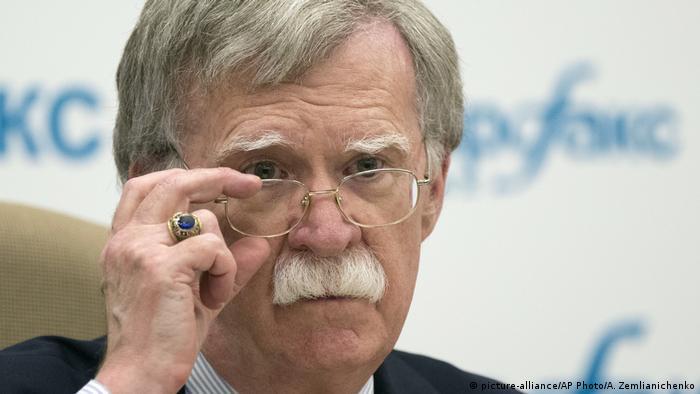 O assessor de Segurança Nacional da Casa Branca, John Bolton