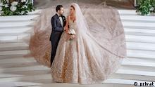 زوج مسلمان و مسیحی در لبنان
