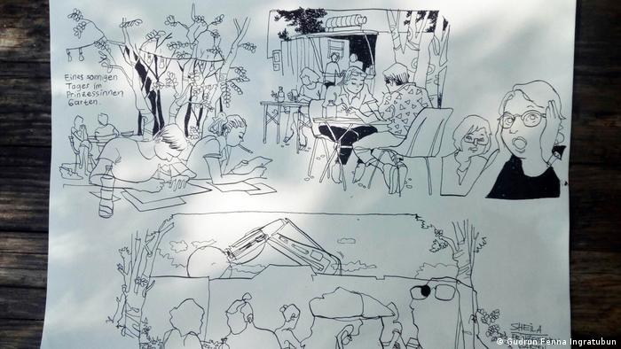 Deutschland Comic Workshop in Berlin