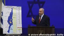 Ministerpräsident Netanjahu zur Annektion des Jordantals