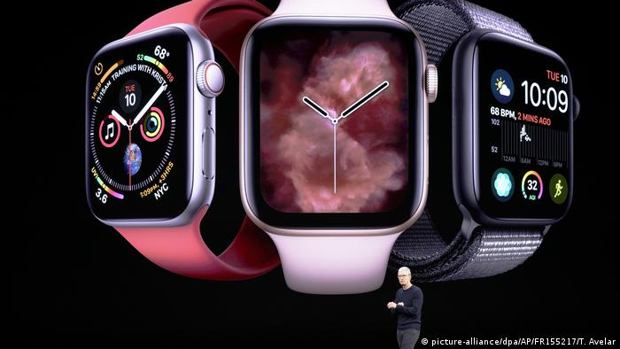 Vorstellung von Apple Produkten | Apple Watch (picture-alliance/dpa/AP/FR155217/T. Avelar)