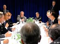 Obama durante la cumbre de Copenhague.