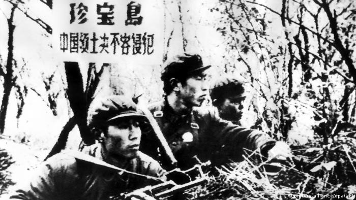 04 - 60 Jahre China im Umbruch | Die Kulturrevolution | Grenzkonflikt mit der SU (picture-alliance/dpa/UPI)