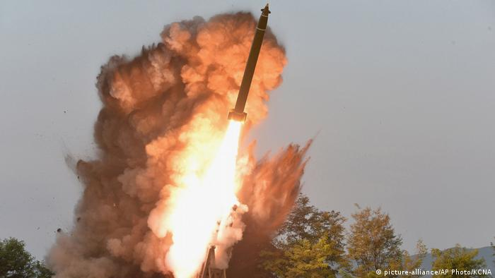North Korea launches a short range missile on September 10, 2019