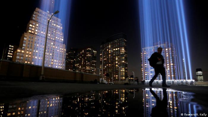 BdTD USA Gedenktag Terroranschläge 11. September 2001 (Reuters/A. Kelly)