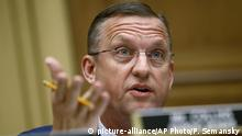 FILE - In this May 21, 2019, file photo, Rep. Doug Collins, R-Ga., ranking member of the House Judiciary Committee, speaks during a hearing without former White House Counsel Don McGahn on Capitol Hill in Washington. Collins wants to be appointed to Sen. Johnny Isakson's Senate seat when he steps down in December. (AP Photo/Patrick Semansky, File) |