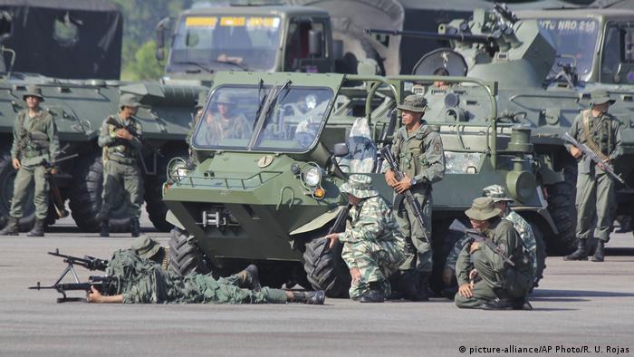 Militärübung in Venezuela