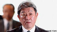 Japan Kabinettsumbildung Toshimitsu Motegi