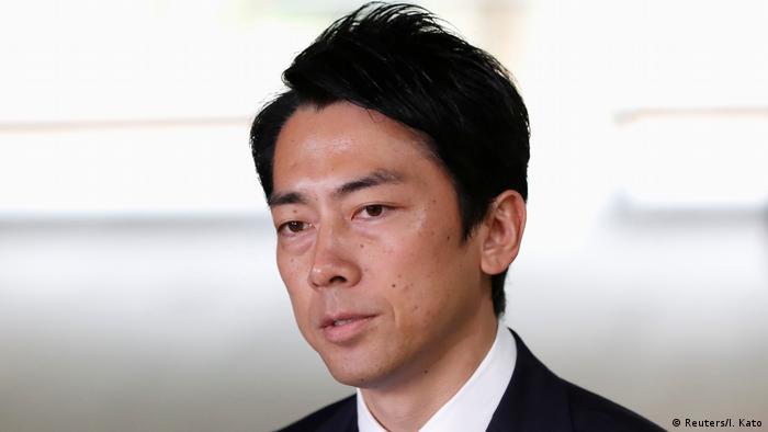 Japan Kabinettsumbildung Shinjiro Koizumi