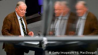 Bundestag - Generaldebatte | Alexander Gauland (Getty Images/AFP/J. MacDougall)