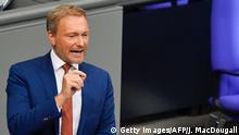 Bundestag - Generaldebatte | Christian Lindner