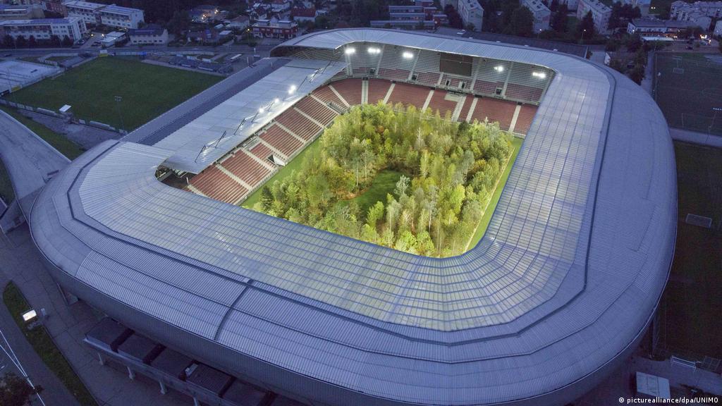 How Austria S Far Right Turned The Stadium Artwork For