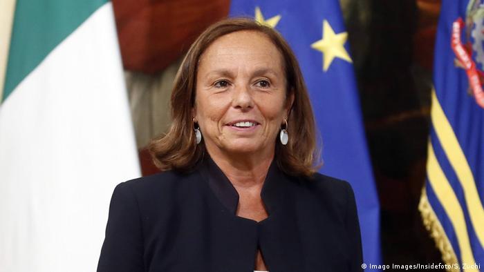 Italien Politikerin Luciana Lamorgese