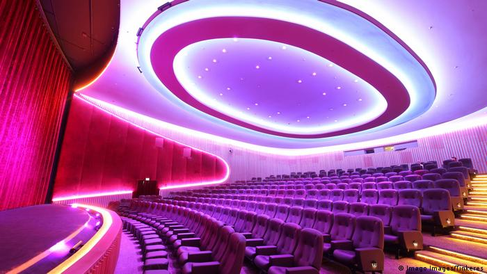 Interior of the Zoo Palast Berlin cinema (Imago Images/Tinkeres)
