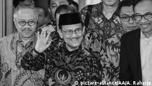 Ehamaliger Indonesischer Präsident   Bacharuddin Jusuf Habibie