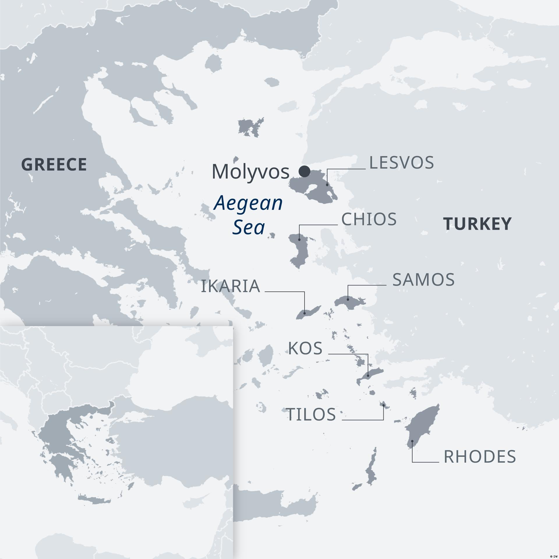 Najkrótszą drogą do Europy dla uchodźców jest dostanie się na greckie wyspy z Turcji