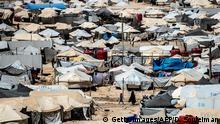 Syrien, Al-Hasakeh: Flüchtlingslager Al-Hol