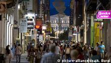 Griechenland - Athen Einkaufstraße