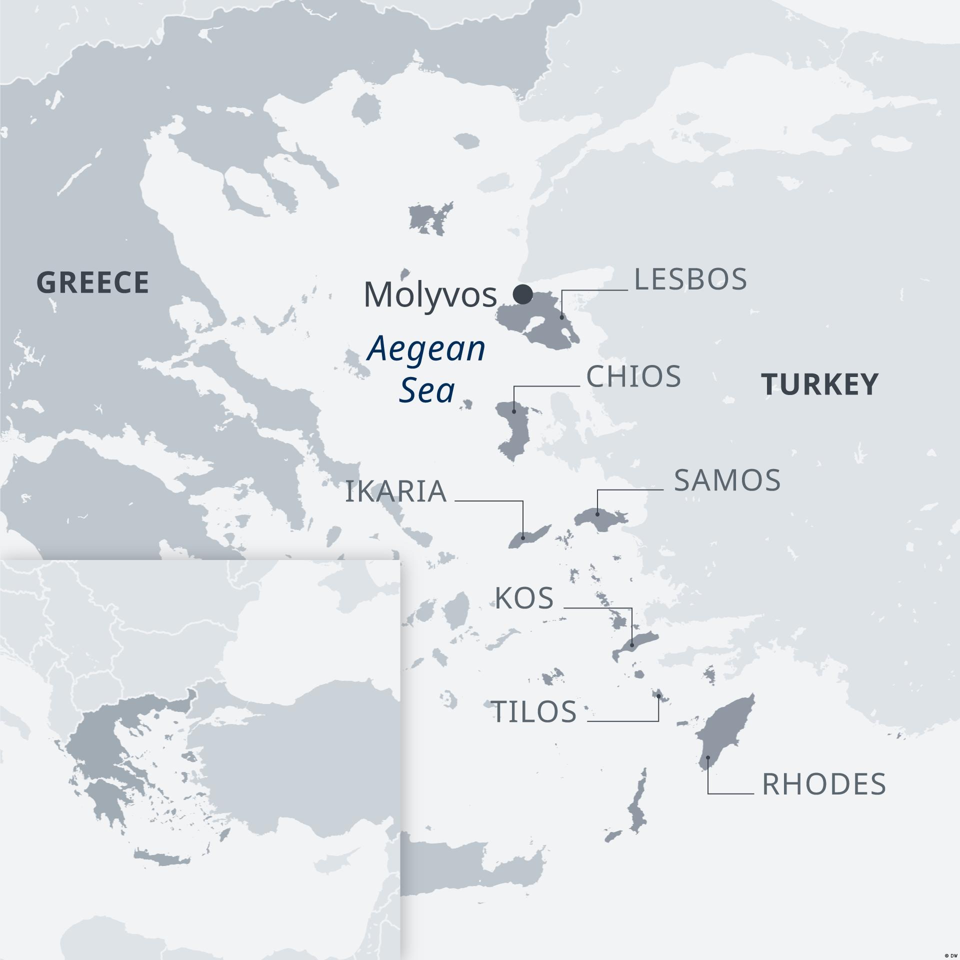 Samos, o insulă grecească în dreptul coastei turceşti