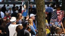18. Jahrestag der Terroranschläge vom 11. September