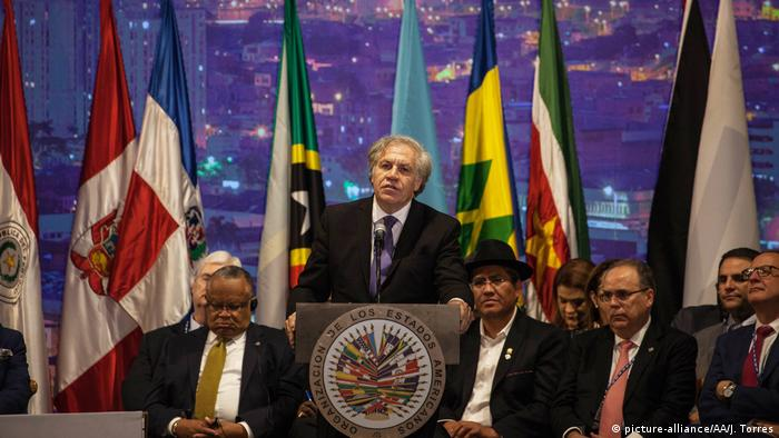 Organization of American States (OAS) (picture-alliance/AA/J. Torres)