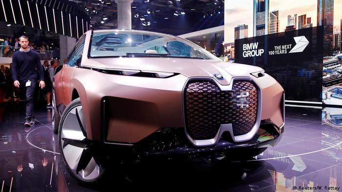 Электромобиль BMW Vision iNEXT