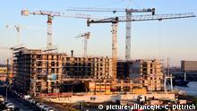 Deutschland Wohnungsbau HafenCity in Hamburg