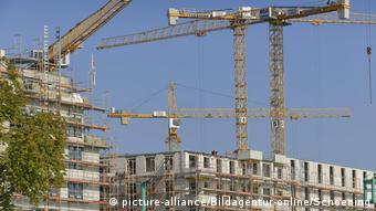 Строительство жилых домов в Берлине