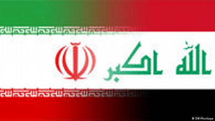 Symbolbild Iran Irak (DW-Montage)