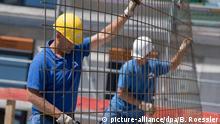Deutschland Wohnungsbau Handwerker