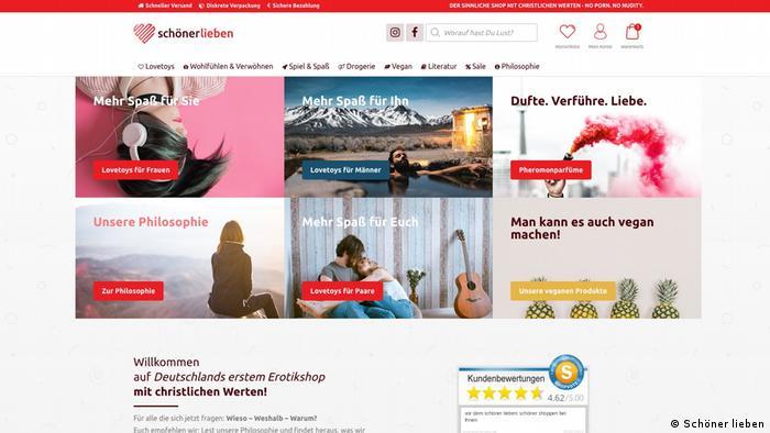 Интернет-магазин Schöner lieben
