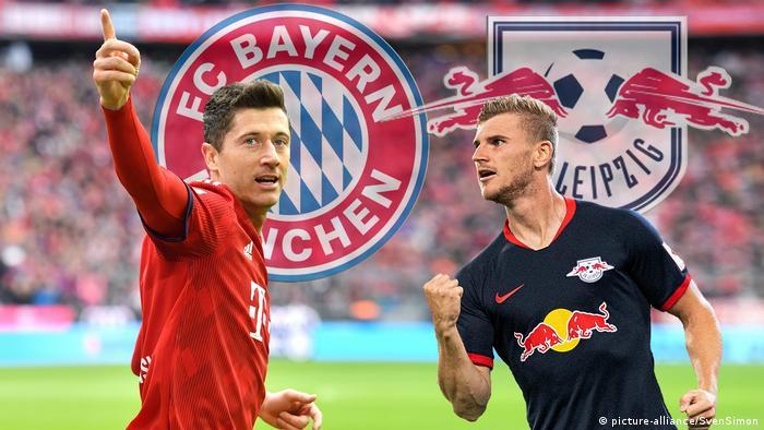 Vorschau zum Bundesliga Topspiel RB Leipzig-FC Bayern München RB Leipzig-FC Bayern Muenchen.
