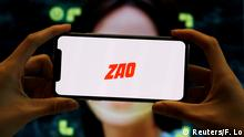 Chinesischer Gesichtsaustausch-App Zao