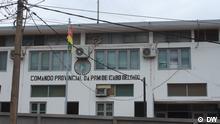 Mosambik Gebäude von Polizeistation in Cabo Delgado Provinz