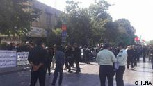 Iran Arbeiterprotest in Ghazwin