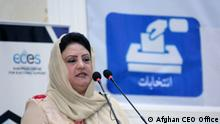 Hawa Alam Noorestani Leiterin afghanische Wahlkommission (Afghan CEO Office)
