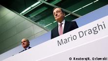 Frankfurt Mario Draghi EZB Zinsentscheidung