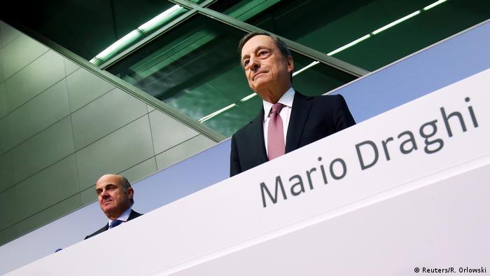 Frankfurt Mario Draghi EZB Zinsentscheidung (Reuters/R. Orlowski)