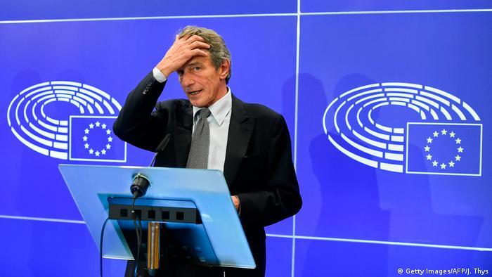 Belgien EU Brexit David Sassoli