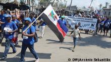 Mosambik Beira RENAMO-Wahlkampf