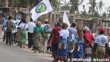 MDM-Wahlkampf in Beira, Provinz von Sofala, Mosambik. Wer hat das Bild gemacht?: Arcénio Sebastião. Wann wurde das Bild gemacht?: September 2019. Wo wurde das Bild aufgenommen?: Beira, Mosambik