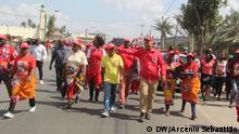 Mosambik Beira FRELIMO-Wahlkampf
