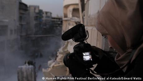 Human Rights Film Festival Berlin For Sama (Human Rights Film Festival Berlin/Waad al-Kateab/Edward Watts)
