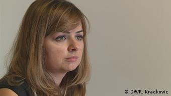 Direktorka Centra za građansko obrazovanje (CGO) iz Podgorice Daliborka Uljarević