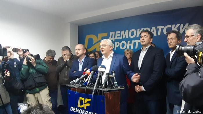Predstavnici opozicije u Crnoj Gori