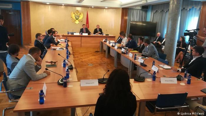 Sednica Odbora za izmenu izbornih i drugih zakona u Podgorici