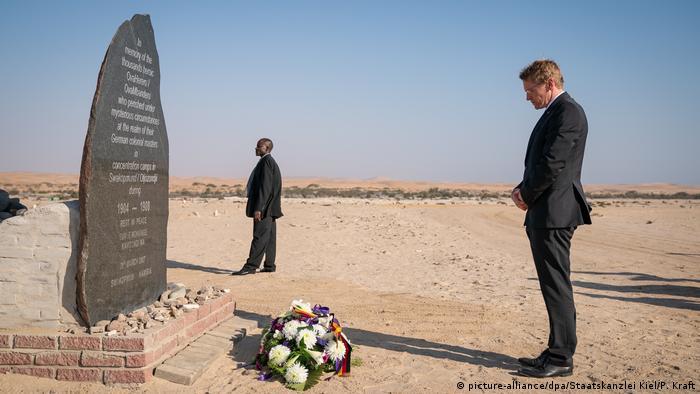 Bundesratspräsident Daniel Günther in Namibia