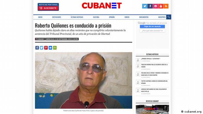 Arrested Cuban journalist Roberto Quinones fights on, despite fear